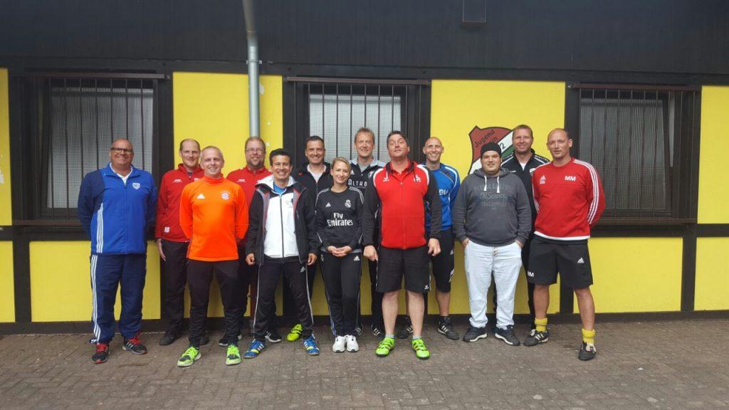 3 weitere Jugendtrainer der JSG Scheuerfeld/Wallmenroth auf dem Weg zum C-Lizenz-Trainer